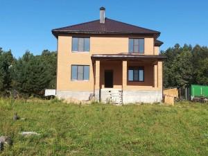 Строительство кирпичного дома.