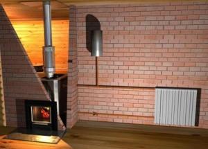 отопление в кирпичном доме