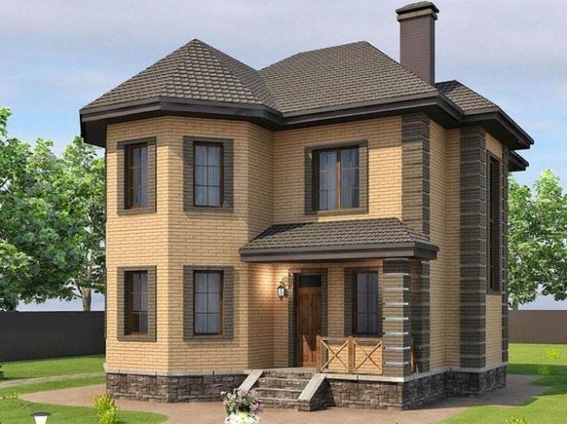 Дом 120 кв.м. - 1 500 000 рублей.