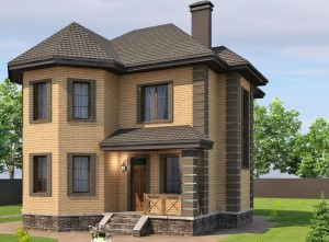 Строительство дома для постоянного проживания из кирпича в Калуге